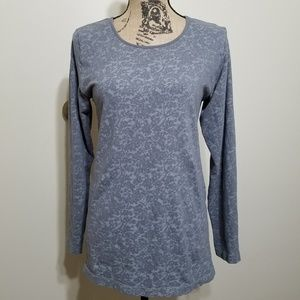 Athleta Blossom Abstract Floral Print Top XL